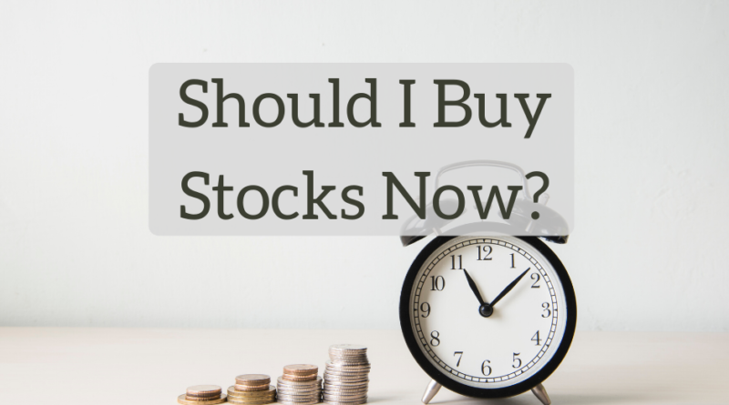 Should I Buy Stocks Now? - The White Coat Investor - Investing & Personal Finance for Doctors