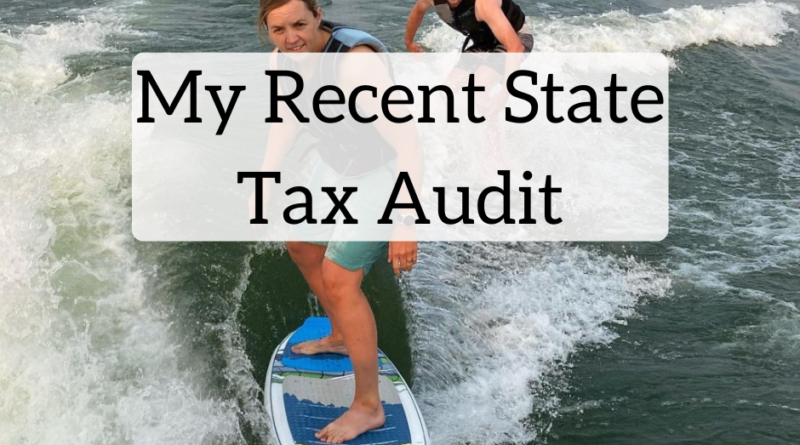 My Recent State Tax Audit | White Coat Investor
