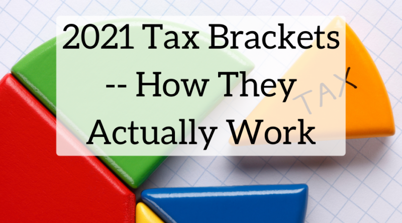 2021 Tax Brackets -- How They Actually Work | White Coat Investor