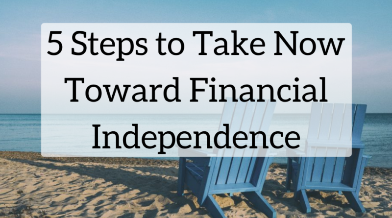 5 Things You Can Do Today to Become Financially Independent | White Coat Investor
