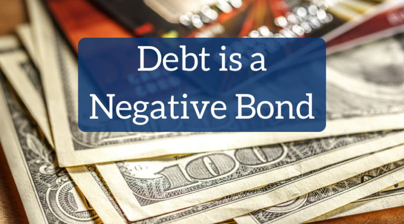Debt is a Negative Bond | White Coat Investor