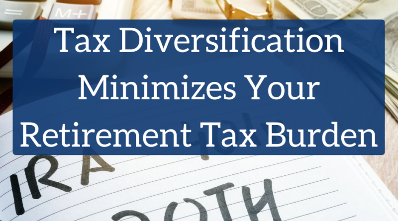 Tax Diversification Minimizes Your Retirement Tax Burden | White Coat Investor