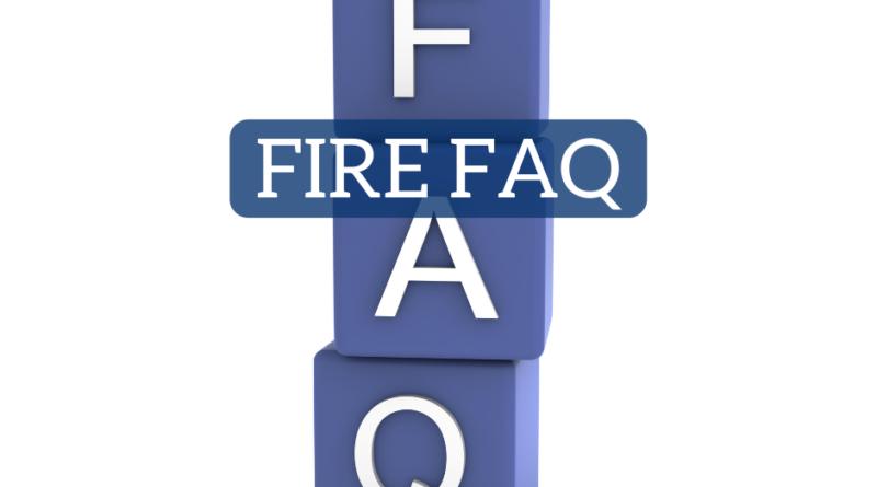FIRE FAQ | White Coat Investor