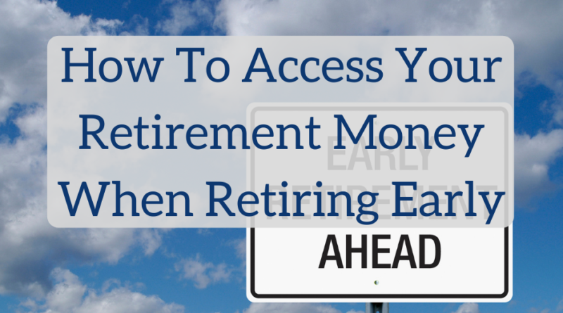 How to Access Your Retirement Money When Retiring Early | White Coat Investor