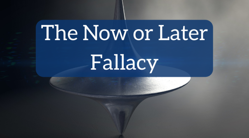 Live Now or Save for Later: The Now or Later Fallacy | White Coat Investor
